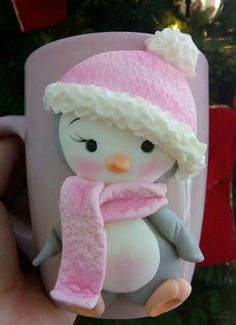1 million+ Stunning Free Images to Use Anywhere Polymer Clay Christmas, Cute Polymer Clay, Polymer Clay Animals, Cute Clay, Fimo Clay, Polymer Clay Crafts, Polymer Clay Creations, Ceramic Clay, Crea Fimo