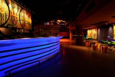 elegant night club bar
