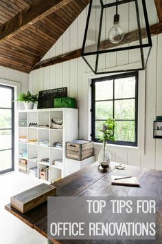 Top 5 Things to Consider when Renovating an Office | Love Chic Living