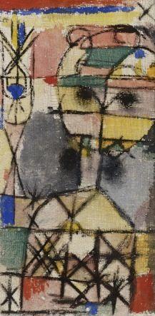 Paul Klee (1879-1940) volgt nooit de verhaallijn van mythologische sagen, maar concentreert zich op een bepaald aspect en vervormt dat tot een symbool, een persoonlijke mythe. mythologische thema's hebben al vanaf het begin (circa 1901) in het werk van Paul Klee een belangrijke rol gespeeld.