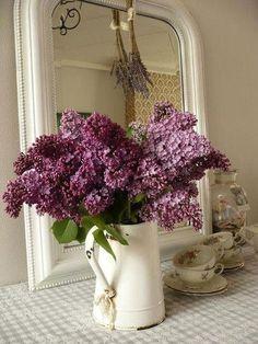 Lilacs | Peonies, Hydrangeas, Tulips, Lilacs, Roses | Pinterest