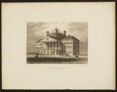 General Hospital, Boston | Prints and engravings collection, 1830s-1920s (GC002) -- Historic New England