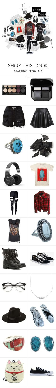 """""""☢ Band Tees, Please! ☠"""" by silvertribe ❤ liked on Polyvore featuring Witchery, LE3NO, WithChic, Dolce&Gabbana, Topshop, RED Valentino, J.Crew, Lack of Color, Sleepyville Critters and Converse"""