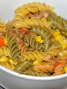 Sea pasta salad: An adaptation of the famous Haitian macaroni salad, this sea pasta salad is perfect at buffet, a picnic or light lunch.