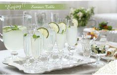 Enjoy summer table