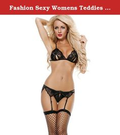Fashion Sexy Womens Teddies Babydoll Lace Black Three Point Shapewear Nightdress. Item Material:Lace+Nylon tem Condition:100% Brand New With Tags Item Color:Black Item Sizes:Free size Package:Bag(Not Box) For Seasons:Spring/Summer/Autumn/Winter Hot,Sexy,Wild,very comfortable to wear and touch! For Occasion:A piece to spice up bedroom activities. Due to the difference between different monitors, the picture may not reflect the actual color of the item. We guarantee the style is the same as...