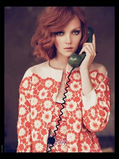 Gorgeous warm, rich copper colour looks amazing on this bouncy bob style