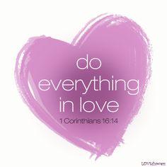 Love leads!