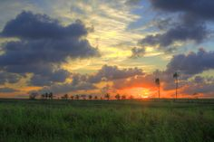 sunset - Cuban countryside