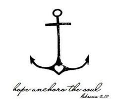 Anchor tattoo meaning - Hope, Safety, Fidelity, Stability, Security, Salvation. Can be seen symbolically as something that holds you in place and provides you the strength to hold on no matter how rough things are.