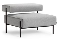 "Lucy Kurrein's modular sofa ""rejects the conventional working environment"""