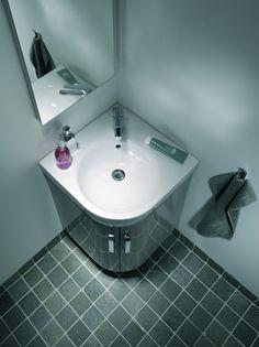 Nieuw #ruimtebesparend badkamerconcept voor de kleine #badkamer: Sphinx 320 xs.