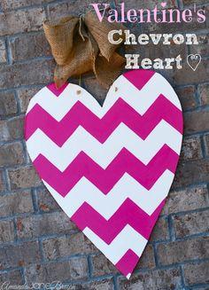 Valentine's Heart Door Decor
