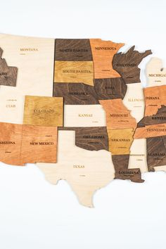 Farmhouse Wooden World Map with USA borders by WoodPecStudio. Travel push pin maps for wall office decor, bedroom and living room rustic decor, hallway decoration. World maps from wood for wall decor in farmhouse style. Push Pin World Map, World Map Wall Art, Map Wall Art, Anniversary Gift, Wooden Travel Push Pin Map, Housewarming Gift #mapwalldecor #kitchenwalldecor #kitchenwalldecorideas