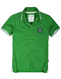 Doublju men's Short Sleeve Polo Shirts (KMTTS019) #doublju