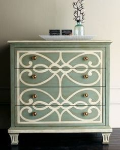 Painted Furniture Trends: Trending Painting Techniques 7 Painted Furniture Trends: Trending Painting Techniques - tutorials, videos and tips. for new matte, gold, spray paint, chalk paint and gloss paint trends. Furniture Projects, Furniture Makeover, Home Projects, Home Furniture, Dresser Makeovers, Dresser Ideas, Dresser Designs, Bedroom Furniture, Modern Furniture