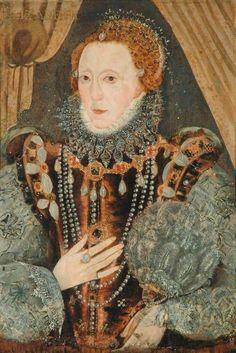 Queen Elizabeth I by ? (Richmond Collection - Richmond, North Yorkshire) | Grand Ladies | gogm