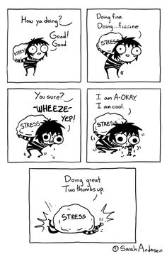 """Two Thumbs Up,"" a Sarah's Scribbles comic by Sarah Andersen"