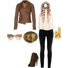 Fall fashion, I would change the shoes out for boots especially since we live in Missouri and Fall and Winter can be so unpredictable :)