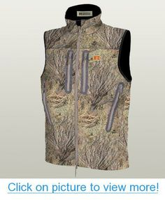 6a432eae32da5 Amazon.com : Russell Outdoors Men's Apx L3 Gale Two Layer Soft Shell Vest, Mossy  Oak Brush, Large : Hunting Hats : Sports & Outdoors