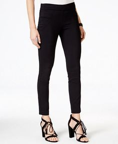 XOXO Juniors' Cropped Pull-On Pants - Juniors Wear to Work - Macy's