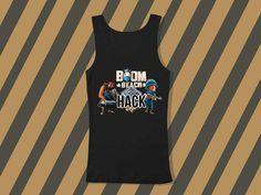 boom beach hackScreenprint mens and women tank by everybodystore, $19.00