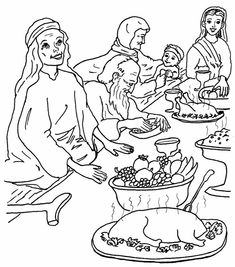 parable of the wedding feast coloring page.html