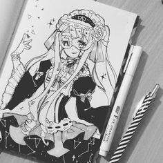 9. #inktober Lolita Witch