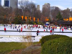 Central Park- NYC...this reminds me of the time they had the orange sheets hung about in artsy style!