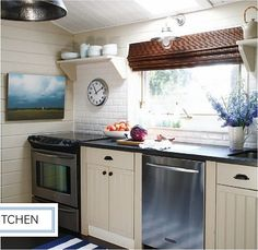 Cottage Kitchen No. 2: house and home (july 2010) robin stubbert