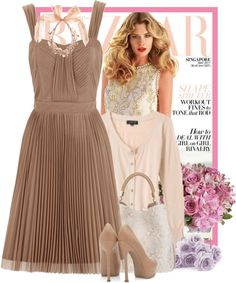 """""""Dress by Oasis"""" by fashionmonkey1 on Polyvore"""