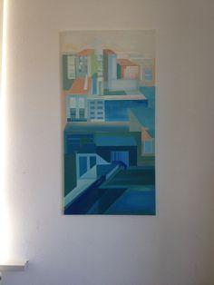 acryl op canvas 60 cm 120 cm ( voor de verkoop)  zie site maartjevanbroekhuizen.nl