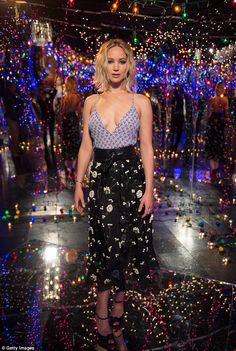 Jennifer Lawrence in Altuzarra at the Photo Call For Columbia Pictures' 'Passengers' at Four Seasons Hotel Los Angeles at Beverly Hills on December 9, 2016