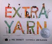 Extra Yarn, a children's picture book by Mac Barnett and Jon Klassen. Looks like it's about yarn bombing! Jon Klassen, Yarn Bombing, Kids Story Books, Stories For Kids, Great Books, My Books, Guerilla Knitting, Der Plan, Books