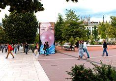 Biennale de Lyon #Adhésif