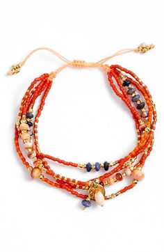 Chan Luu Multistrand Bead Bracelet available at #Nordstrom