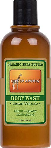 Out Of Africa Body Wash with Organic Shea Butter Lemon Verbena -- 9 fl oz - Vitacost