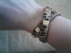 Leopard Tory Burch Pony Hair Bracelet