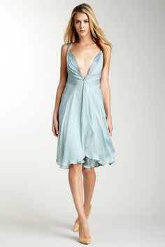 HauteLook    Giorgio Armani Draped Front Halter Dress    Never seen such a flowy yet well-fitted dress...