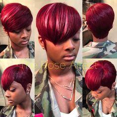 #weave by @[175654209244715:274:Hair Mob] #Atlanta member/stylist Rose…
