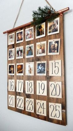 It's the Christmas Countdown! Charming Advent Calendars to Make or Buy It's the Christmas Countdown! Charming Advent Calendars to Make or Buy Simple Christmas, All Things Christmas, Christmas Holidays, Christmas Crafts, Christmas Tables, Nordic Christmas, Modern Christmas, Christmas Ideas, Christmas Stockings