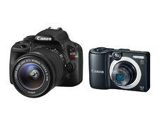 Canon EOS SL1 DSLR Camera w/ 18-55 IS STM Lens (Refurb) + PowerShot A1400 (Refurb) $360 + Free Shipping
