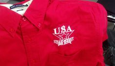 USA Steak Buffet - restaurant - embroidery  - apparel - t-shirt - tee shirt - design - screen print - screenprint - Kearney Nebraska - Shirt Shack -