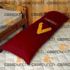 An2-maroon 5 Tour, Magic, Rozzi Crane Body Pillow Case