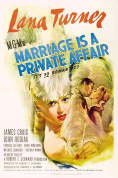 casamento, Lana Turner, filme raro, maternidade, festas, paixão