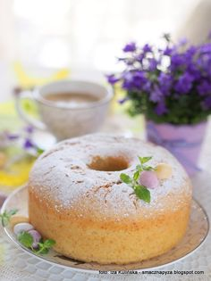 Food Cakes, Doughnut, Cake Recipes, Muffins, Food And Drink, Favorite Recipes, Easter, Sweets, Cooking