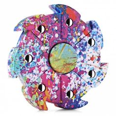 Puzzles & Games New Styles Butterfly Spinner Fidget Magical Three Corner Colorized Finger Spinner For Children Spinner Hand Anti Stress Gift Toy For Improving Blood Circulation Puzzles