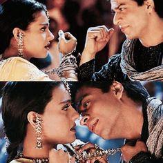 Yeh ladka hai allah from Kabhi Khushi Kabhi Gham. Indian Aesthetic, 90s Aesthetic, Shahrukh Khan And Kajol, Kuch Kuch Hota Hai, Srk Movies, Sr K, Sara Ali Khan, Bollywood Actors, Secret Obsession