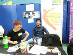 Business Launchpad Stand at South Thames College for the Skills Show Experience in May 2014,