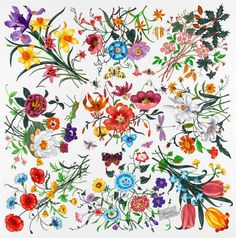 The Flora pattern - designed for Princess Grace of Monaco (Grace Kelly) by Vittorio Accornero
